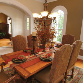 Dining room lighting should be both beautiful and functional. This requires a mix of general task and accent lighting that can set the mood for a number ... & Dining Room Tips | Just Lights