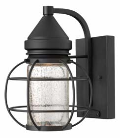 The New Castle Collection From Hinkley Lighting Gives This Traditional  Lantern Design A Modern Twist With A Recessed Light Source Inside A Seedy  Glass ...