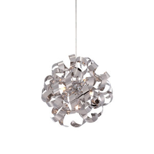 Quoizel Ribbon Pendant in Chrom RBN2817C