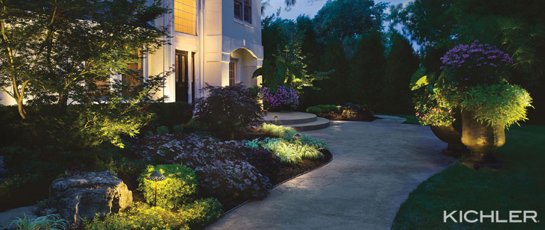 think outside the box the secret to outdoor lighting design - Exterior Lighting Design