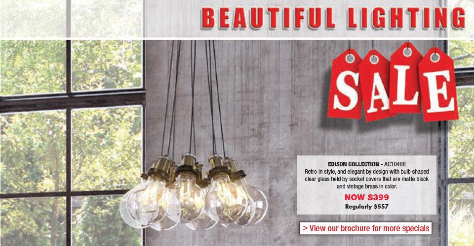 Beautiful Lighting Sale – Save on Artcraft