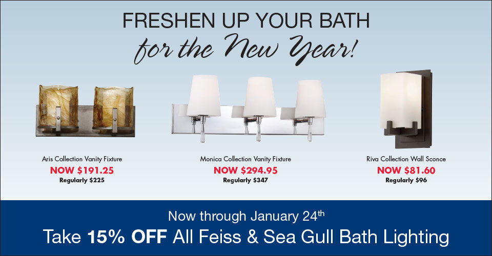 Freshen Up Your Bath for the New Year