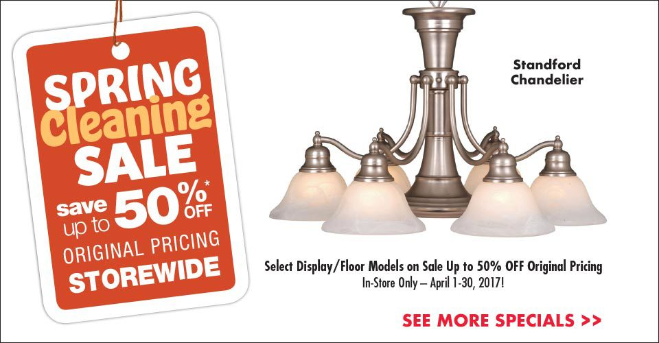 Spring Cleaning Sale – Save Up to 50%!