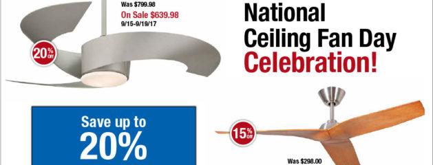 National Ceiling Fan Day Celebration
