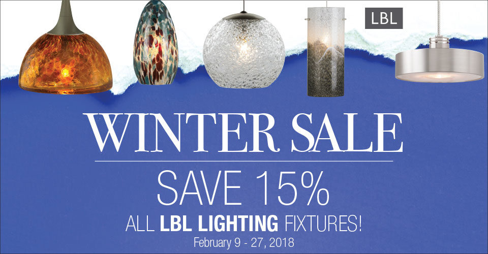 Save on LBL Lighting!